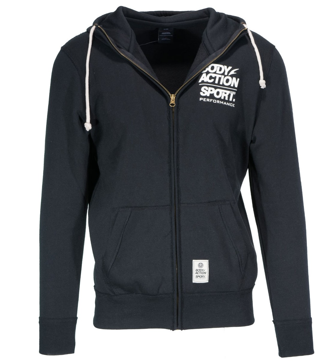 Body Action Men Hooded Jacket