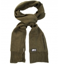 Body Action Κασκόλ Unisex Ribbed Kniteed Zip Pocket Scarf 095609