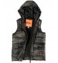 Body Action Παιδικό Αθλητικό Μπουφάν Αμάνικο Fw18 Boys Quilted Vest 074801