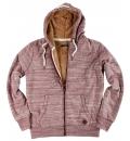 Body Action Ανδρική Ζακέτα Με Κουκούλα Fw18 Men Fur Lined Zip Hoodie 073821