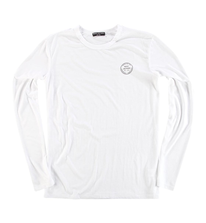 Body Action Ανδρική Μακρυμάνικη Μπλούζα Men Long Sleeve Crew Neck Tee 063822