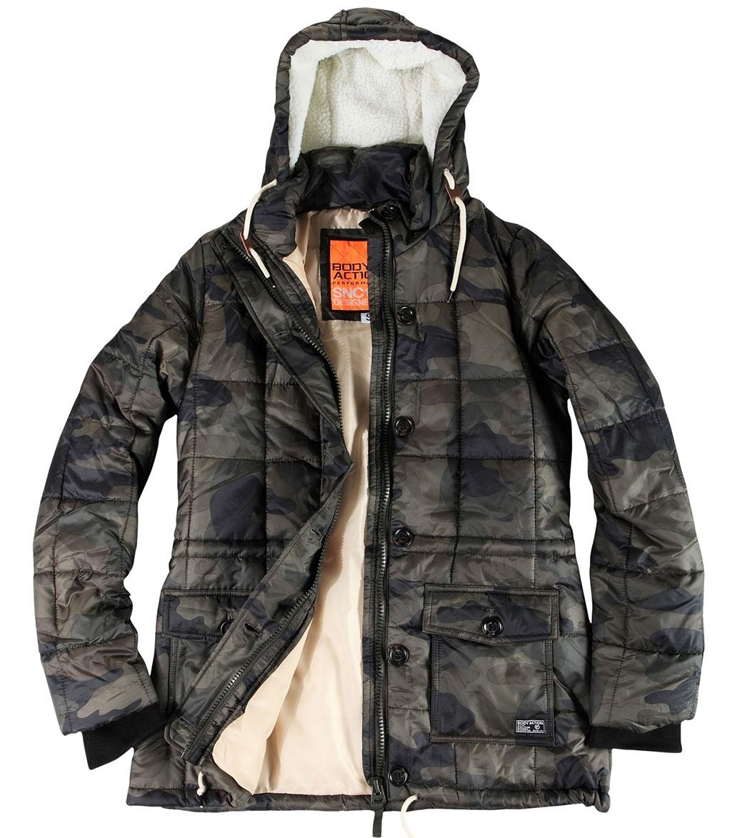 20bfc539c8f Body Action Γυναικείο Αθλητικό Μπουφάν Fw18 Women Hip-Length Quilted Jacket  071826 - OHmyTAGS.com