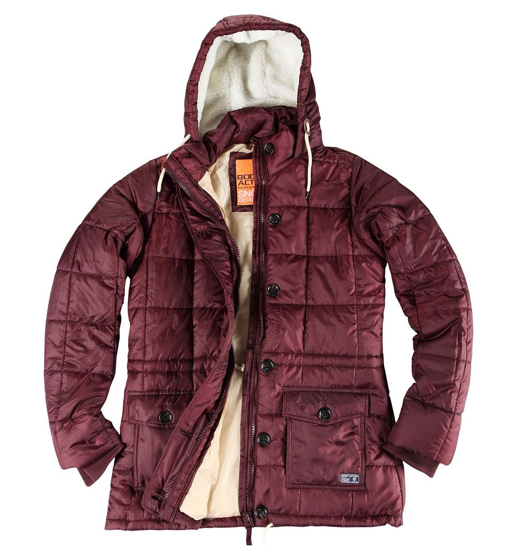 89b6e863a27 Body Action Γυναικείο Αθλητικό Μπουφάν Fw18 Women Hip-Length Quilted Jacket  071826