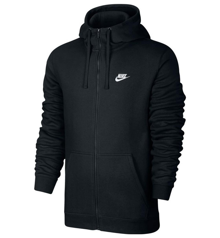 Nike Ανδρικό Φούτερ Με Κουκούλα Hoodie Fz Flc Club 804389