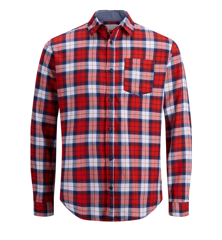 Jack & Jones Ανδρικό Πουκάμισο Ss19 Jornico Shirt Org 12144695