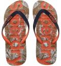 Superdry Γυναικεία Σαγιονάρα Παραλίας D4 Printed Cork Flip Flop GF30023S