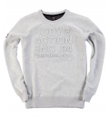 Body Action Ανδρικό Φούτερ Men Crew Neck Sweatshirt 063726