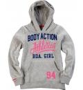 Body Action Παιδικό Φούτερ Με Κουκούλα Girls Basic Hoodie 062701