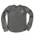 Body Action Γυναικεία Μακρυμάνικη Μπλούζα Women Scoop Hem Sweatshirt 061838