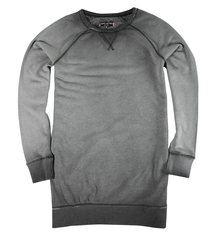 Body Action Γυναικείο Μπλουζοφόρεμα Women Sweatshirt Dress 061839