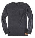 Body Action Ανδρική Μακρυμάνικη Μπλούζα Men Washed Long Sleeve Tee 063825