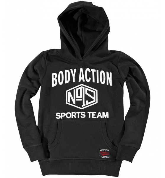 8dcdca5c105 Body Action Παιδικό Φούτερ Με Κουκούλα Fw18 Boys Basic Hoodie 064801