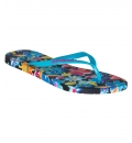 Superdry Ss19 D3 Super Sleek Aop Flip Flop Παπουτσι Γυναικειο