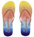 Superdry Ss19 D4 Super Sleek Ombre Flip Flop Παπουτσι Γυναικειο