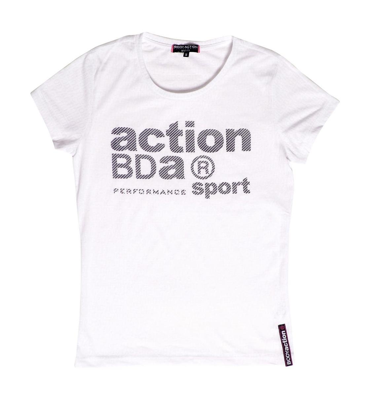 Body Action Ss19 Women Logo Burnout T-Shirt
