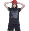 Γυναικεία Κοντομάνικη Μπλούζα Ss19 Women Mesh Long Line T-Shirt 051925