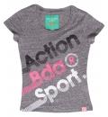 Body Action Ss19 Girls Short Sleeve T-Shirt