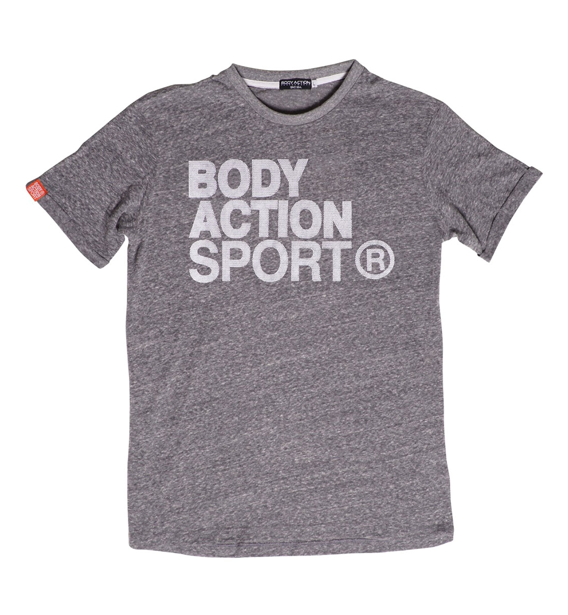 Body Action Ss19 Men Long Line T-Shirt