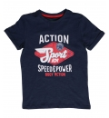 Body Action Ss19 Boys Jaspe T-Shirt