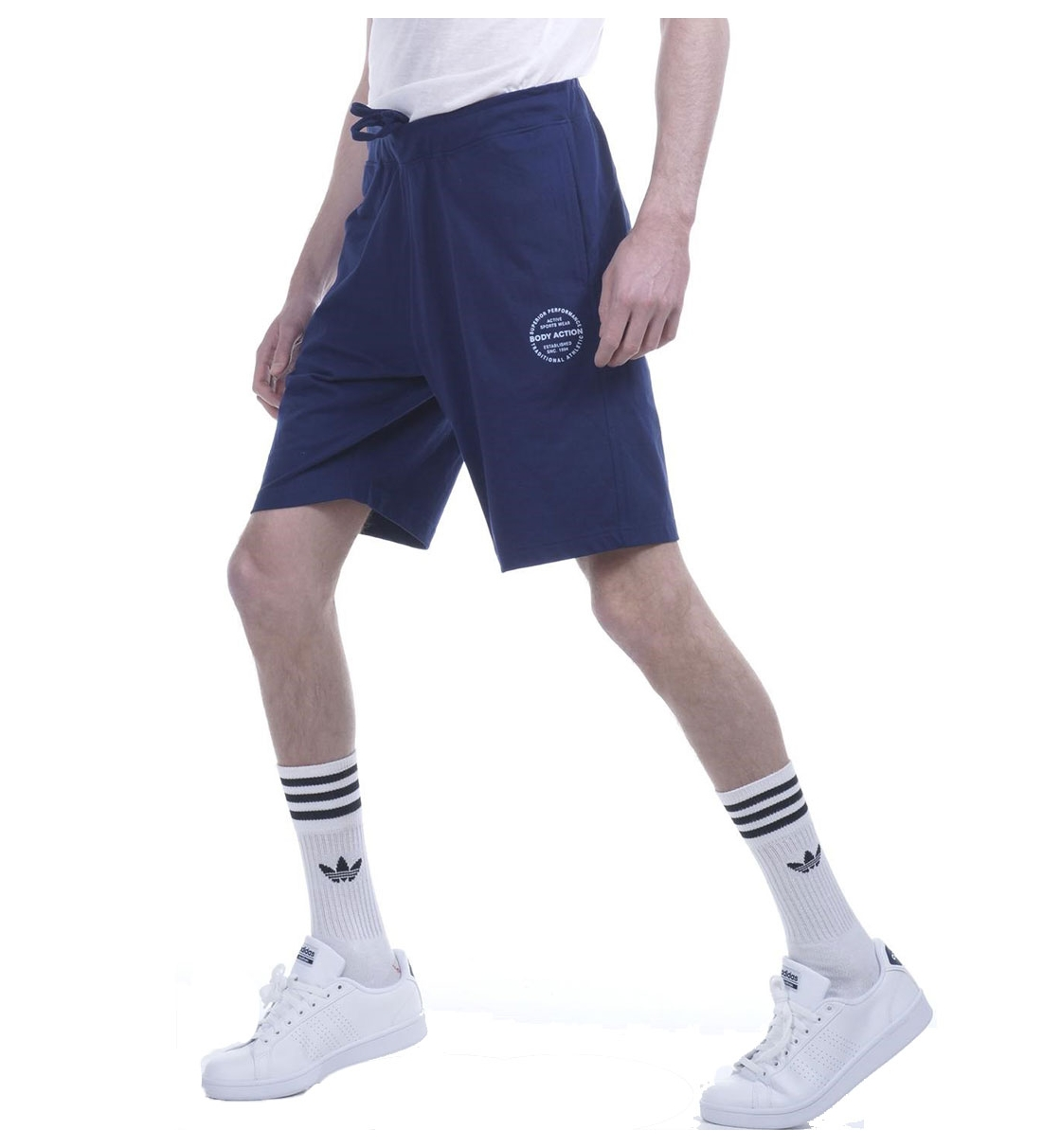 Body Action Ss19 Men Regular Fit Bermuda