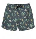 Basehit Ss19 Men'S Printed Volley Shorts