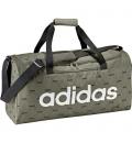 Adidas Fw19 Linear Duffel Bag Medium Graphic