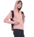 Body Action Fw19 Women Towel Hoodie Jacket