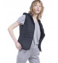 Body Action Γυναικείο Αθλητικό Μπουφάν Αμάνικο Fw19 Women Ultralight Hooded Vest 071919