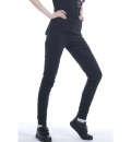 Body Action Fw19 Women Rollover Waistband Leggings