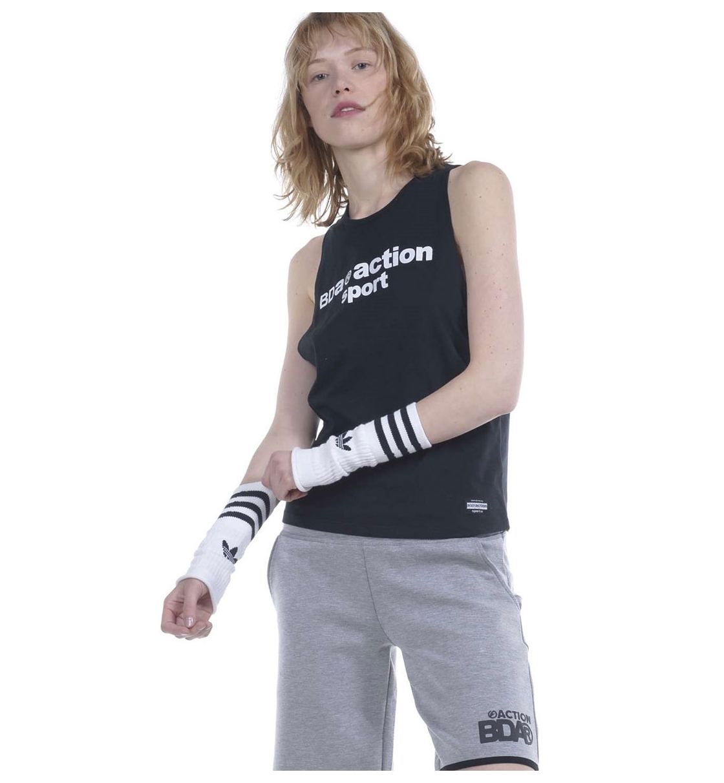 Body Action Ss19 Women Twist Open - Back Tank