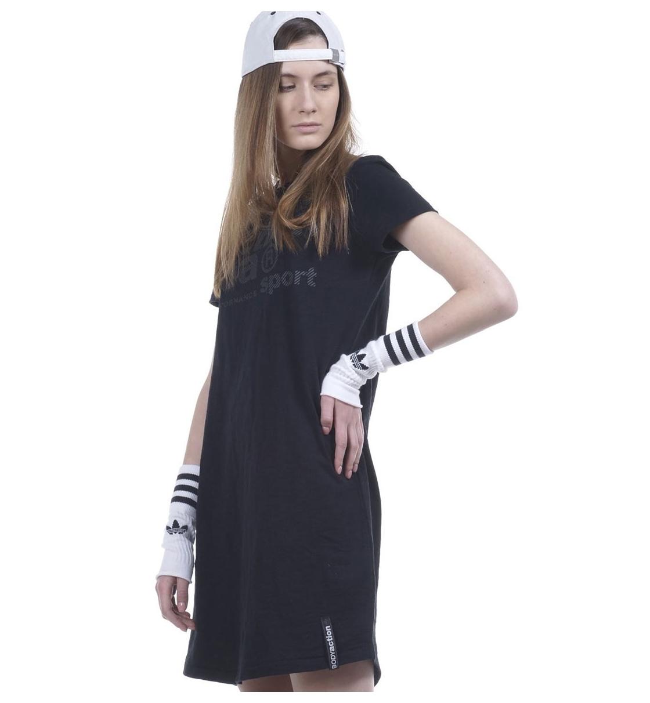 Body Action Ss19 Women Slim Line T-Shirt Dress