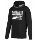 Puma Ανδρικό Φούτερ Με Κουκούλα Fw19 Rebel Camo Hoody Fl 580555