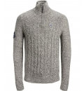Jack & Jones Fw19 Jorjeffrey Knit Turtle Zip