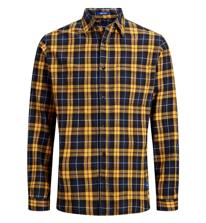 Jack & Jones Fw19 Jorjake Shirt Ls Org