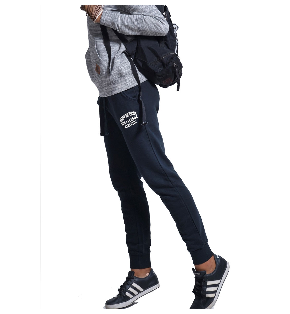 Body Action Fw18 Women Relaxed Joggers