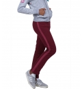 Body Action Fw18 Women Velour Trimmed Pants