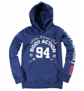 Body Action Fw18 Girls Basic Hoodie