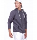 Body Action Fw19 Men Fleece Full-Zip Sweatshirt