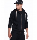 Body Action Fw19 Men Hooded Sweat Jacket