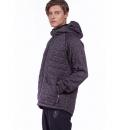 Body Action Ανδρική Ζακέτα Με Κουκούλα Fw19 Men Quilted Fleece Zip Hoodie 073923