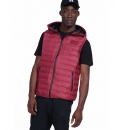 Body Action Ανδρικό Αθλητικό Μπουφάν Αμάνικο Fw19 Men Zip-Through Quilted Vest With Hood 073925