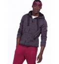 Body Action Ανδρική Ζακέτα Με Κουκούλα Fw19 Men Thick Fleece Zip Hoodie 073929