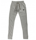Body Action Fw18 Men Drop Crotch Loose Fit Pants