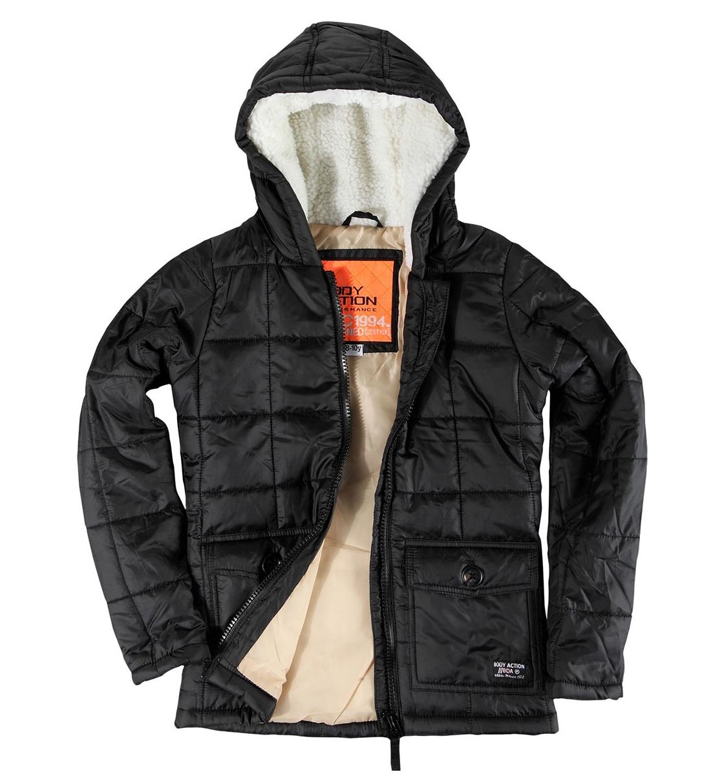 Body Action Παιδικό Αθλητικό Μπουφάν Fw18 Girls Quilted Jacket 072801