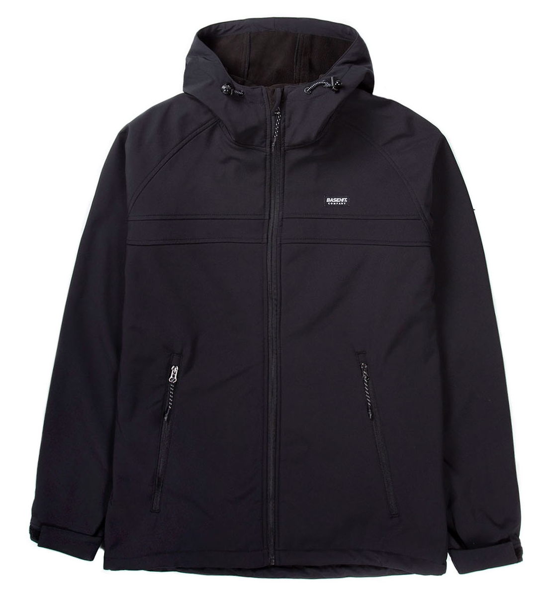 Basehit Ss19 Men'S Soft Shell Jacket With Hood