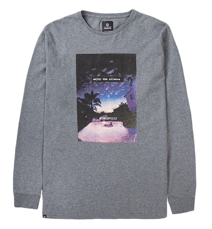 Basehit Ss19 Men'S L/S T-Shirt