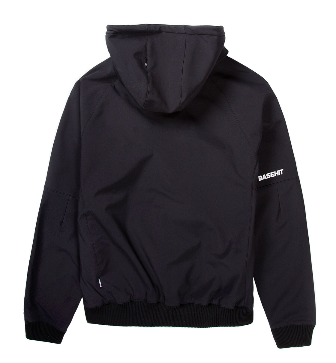 Basehit Ss19 Men'S Soft Shell Ribbed Jkt, With Hood