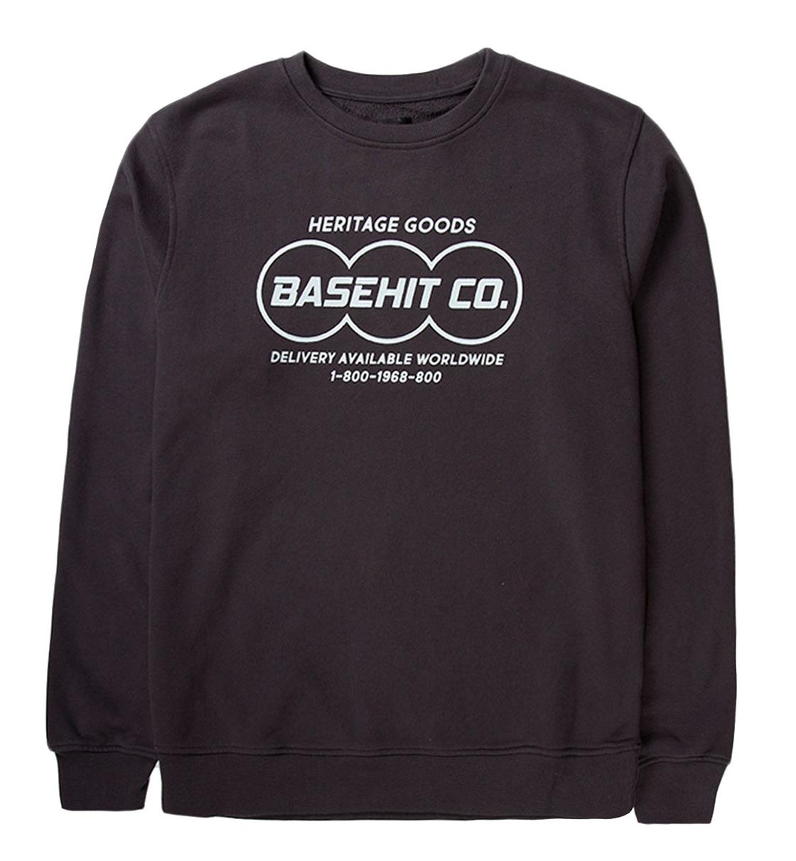 Basehit Fw19 Men'S Neckline Sweat