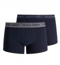 Jack & Jones Ανδρικό Εσώρουχο Fw19 Jacvincent Trunks 2 Pack Noos 12138239