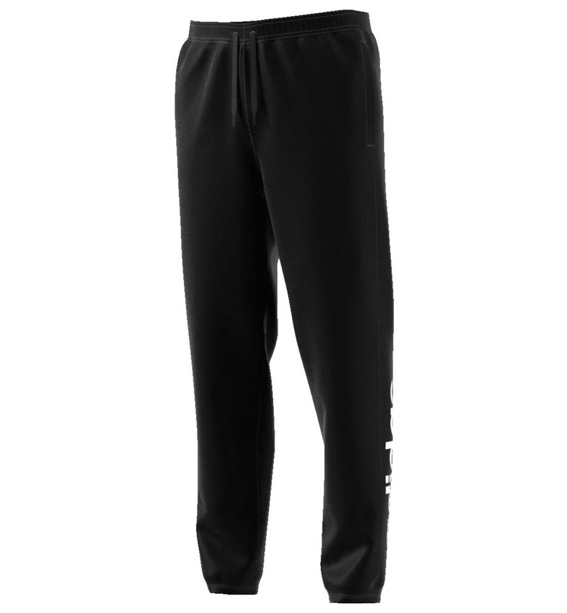 Adidas Fw19 Essentials Linear Tapered Pant French Terry